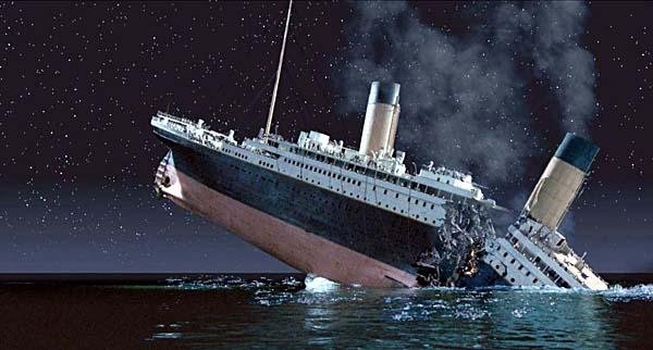 titanik gemi afişi